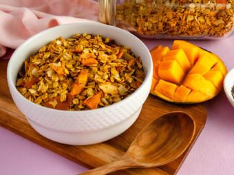 Tropical Mango & Ginger Granola