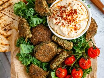 Supergreen Falafel Bites