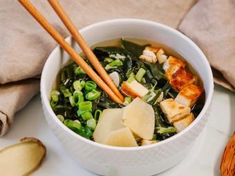 Vegan Miyeok Guk Soup