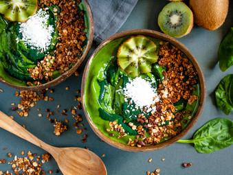 Super Green Smoothie Bowls