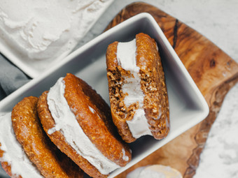 Masala Chai Ice Cream Sandwiches