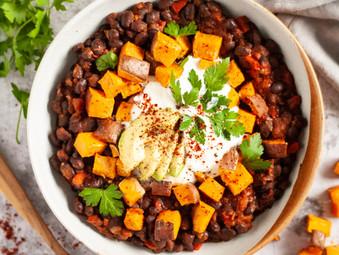 Chipotle Sweet Potato Chilli