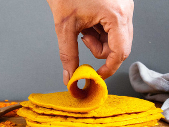 3 Ingredient Lentil Tortillas
