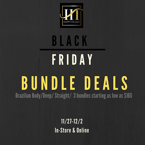 Black Friday 3 Bundle Deal - 20/22/24