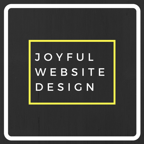 Thiis the logo for Joyful Website Design.