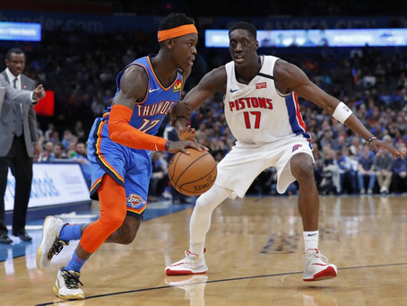 Pistons vs Thunder Free Pick