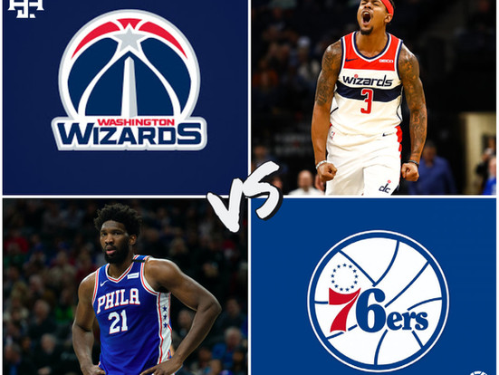 Wizards vs 76ers