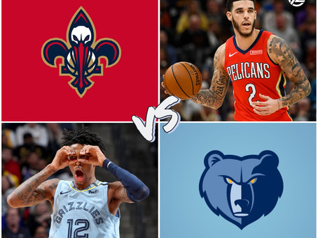 PELICANS VS GRIZZLIES FREE PICK