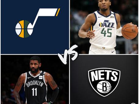 Jazz vs Nets