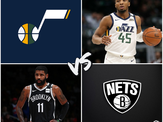 Jazz vs Nets