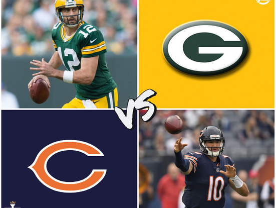 Packers vs Bears (GB -5.5, 50.5)