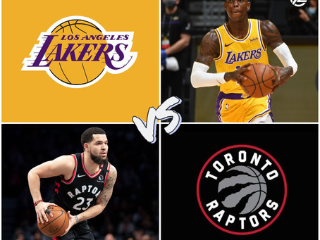 Lakers vs Raptors Free Pick
