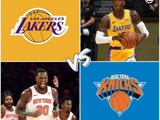 Lakers vs Knicks Free Pick 4/12/21