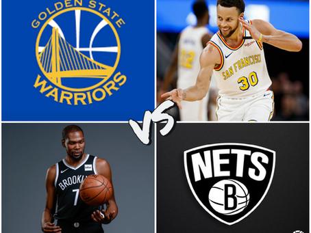 Warriors vs Nets