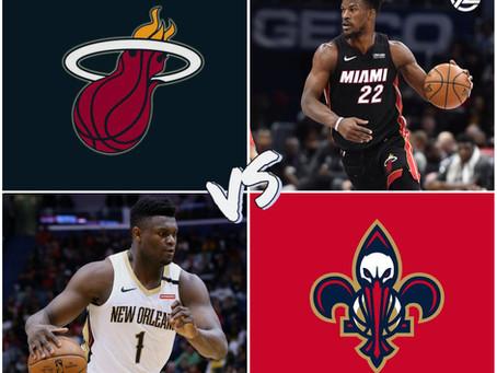 Heat vs Pelicans Free Pick