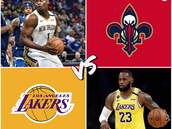 Pelicans vs Lakers