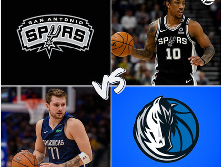 Spurs VS Mavericks Free Pick