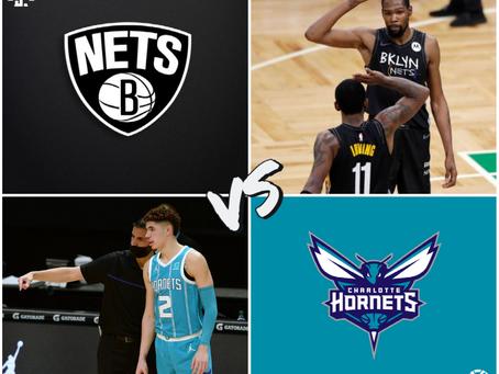 Nets vs Hornets