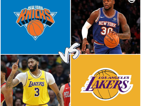 KNICKS VS LAKERS FREE PICK
