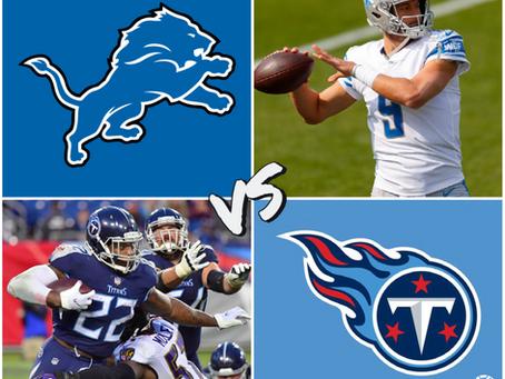 Lions vs Titans Free Pick