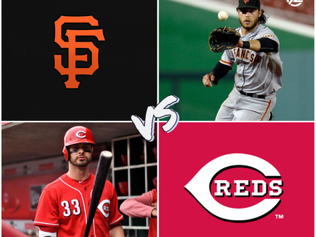 GIANTS VS REDS FREE PICK