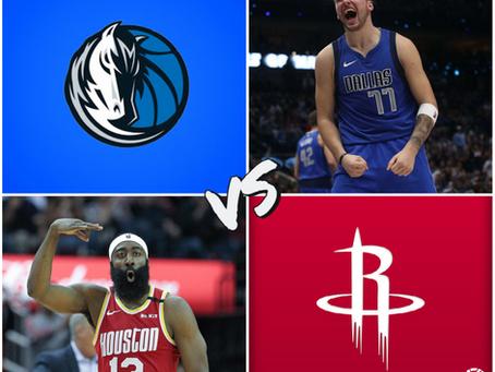 Mavericks vs Rockets