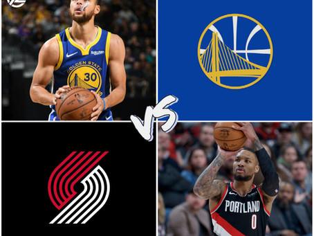 Warriors vs Blazers Free Pick