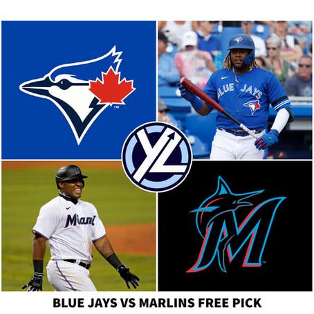 6/22/21 MLB FREE PICK BLUE JAYS VS MARLINS
