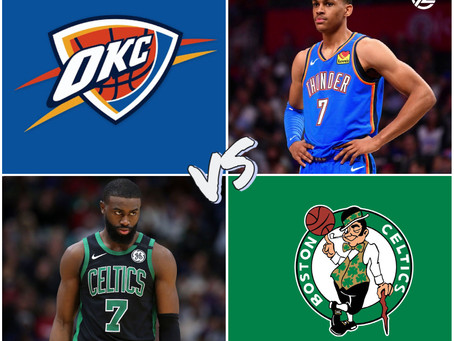 THUNDER VS CELTICS FREE PICK