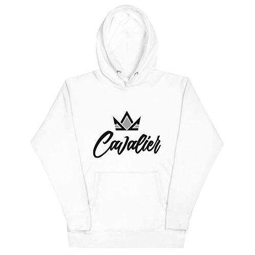 Cavalier Logo Hoodie White/Black