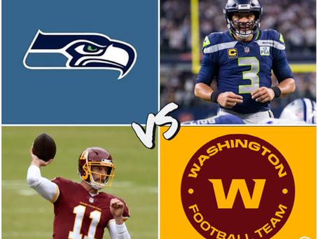 Seahawks vs Washington Free Pick