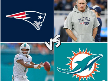Patriots vs Dolphins Free Pick