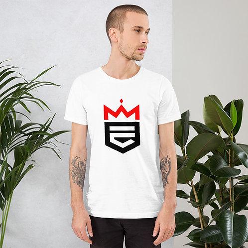 Black/Red E-Lite Short-Sleeve Unisex T-Shirt