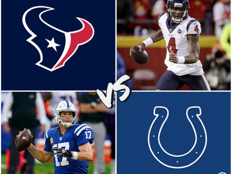 Texans vs Colts Free Pick