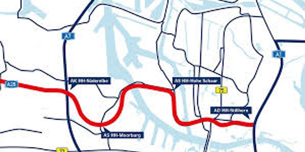 Öffentlicher Termin zur A 26 – Hafenpassage Hamburg