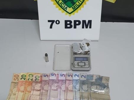 Menor é apreendida em Cruzeiro do Oeste com drogas e munição após denúncia anônima