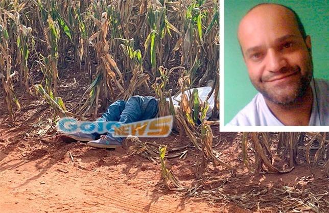 Homem de 42 anos é encontrado morto com perfuração no peito em Plantação de milho