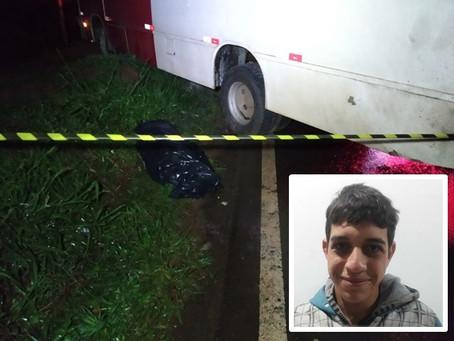Cianortense de 22 anos morre após acidente entre quatro veículos na PR-082 próximo ao Djalma