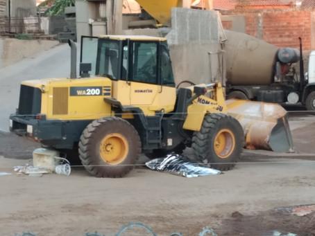 Fatalidade em São Lourenço: homem de 33 anos morre após ser esmagado por pá carregadeira
