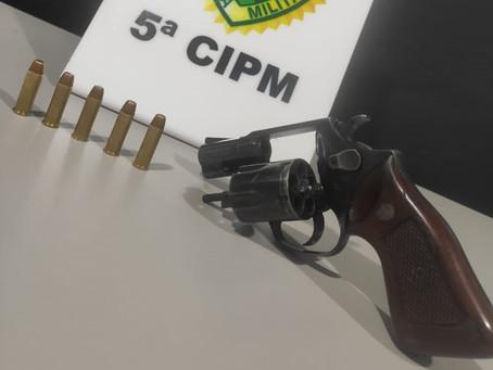 Fugitivo da cadeia de Cianorte desde outubro de 2020 é recapturado com revólver em Cianorte