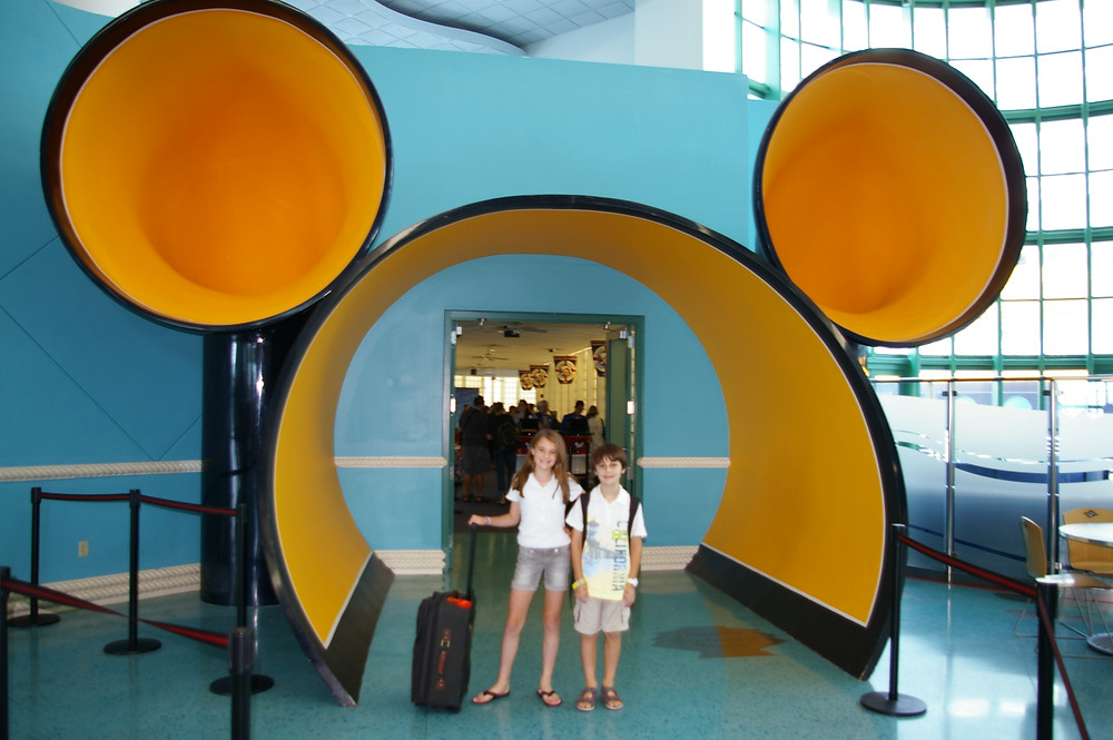 Disney cruise ship terminal