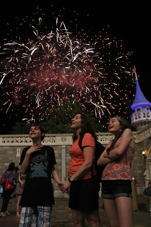 Magic Kingdom Disney World Fireworks