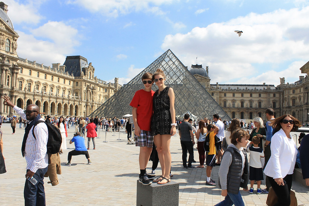 Louvre in Paris France Europe