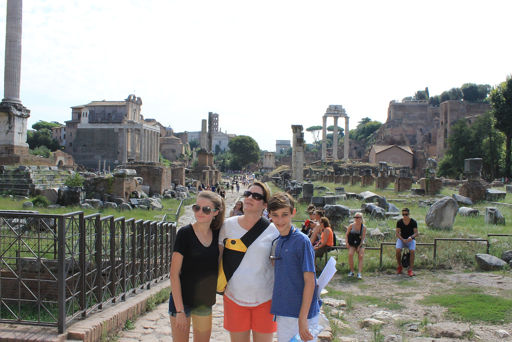 Rome Italy The Forum