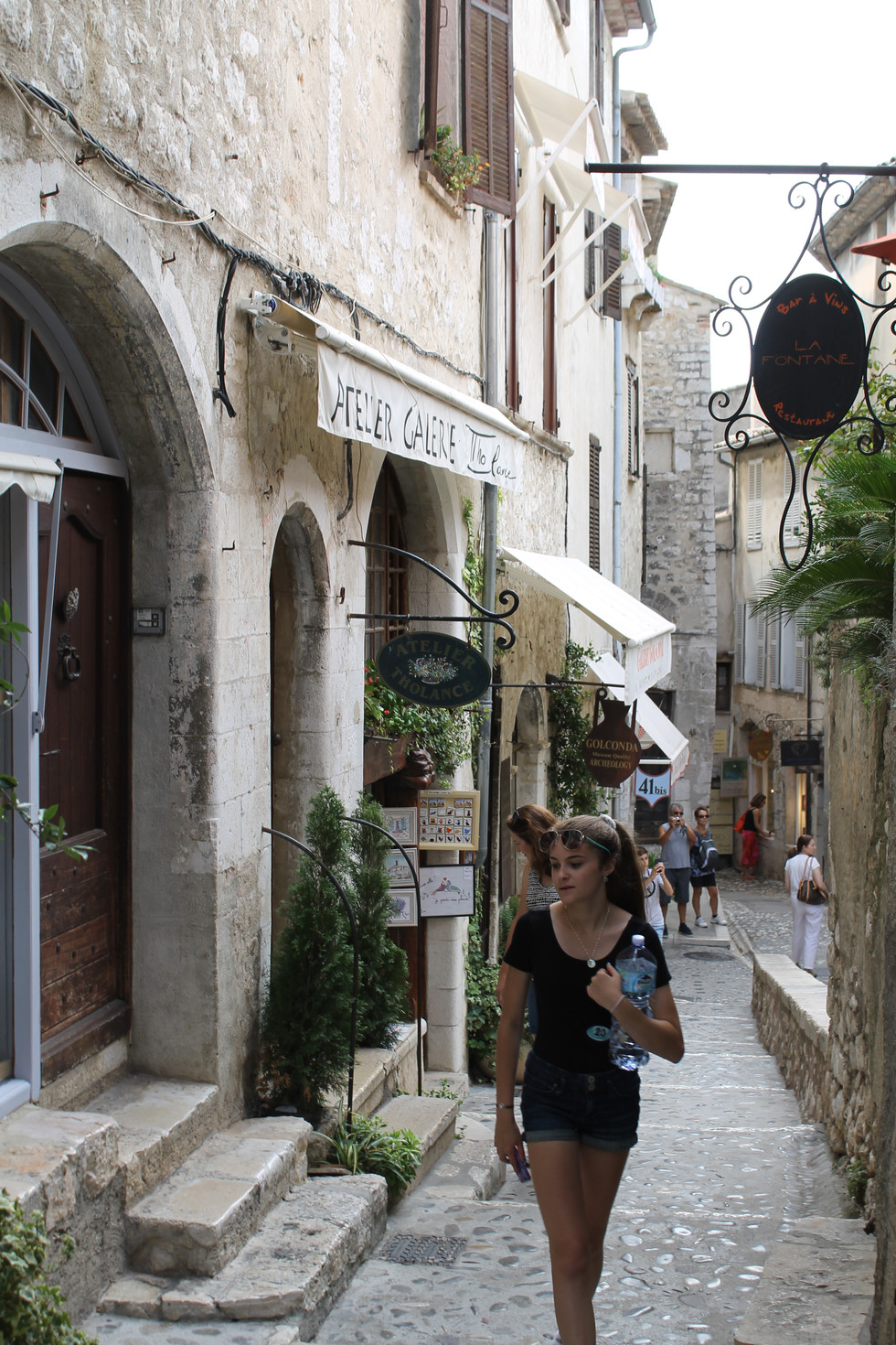 Port of Villefranche: My Son Chose an AWESOME Excursion! St. Paul de Vence