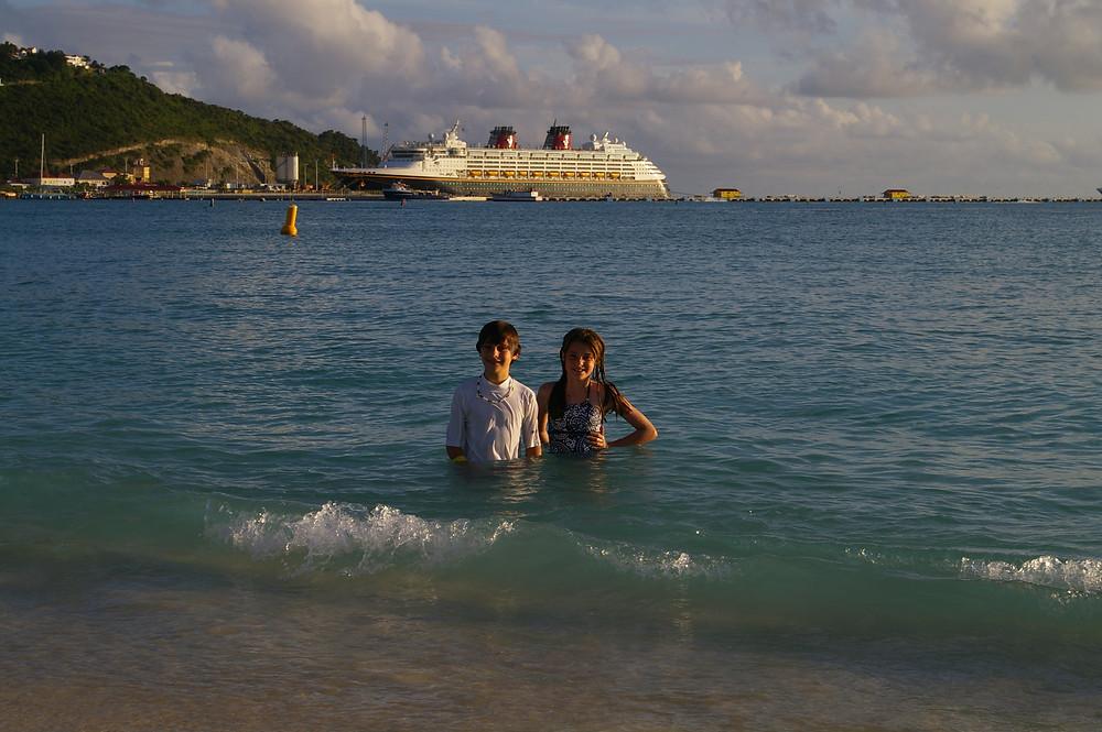 Disney cruise St. Maarten