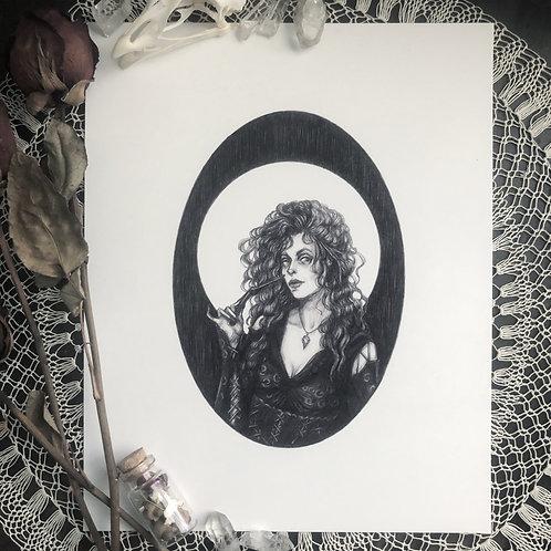 Bellatrix Lestrange - Fine Art Print