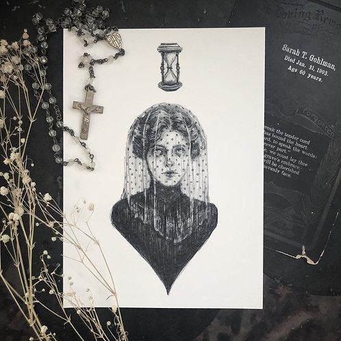 The Sad Hour - Fine Art Print