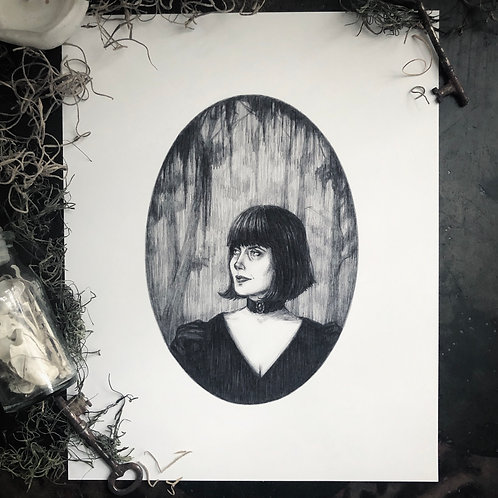 Anne Rice - Fine Art Print