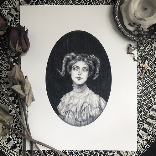 Jezebeth - Fine Art Print